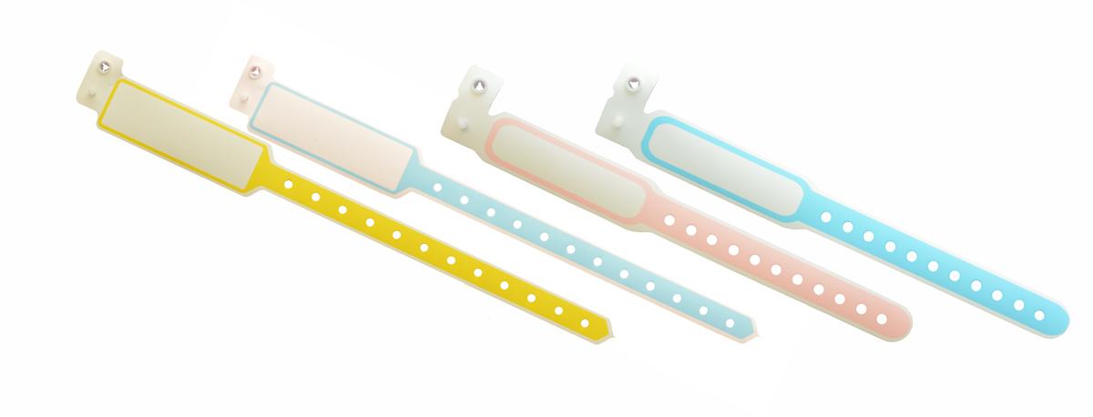 دستبند شناسایی بیمار پلاستیکی ساده