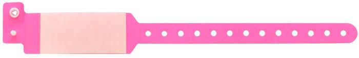 دستبند بیمار اطفال محافظ طلقی صورتی