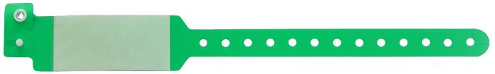 دستبند بیمار اطفال محافظ طلقی سبز