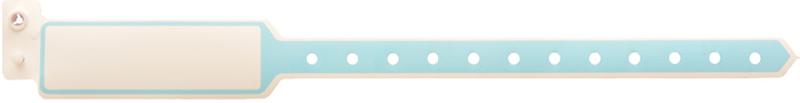 دستبند بیمار پلاستیکی ساده بزرگسال سایز بزرگ