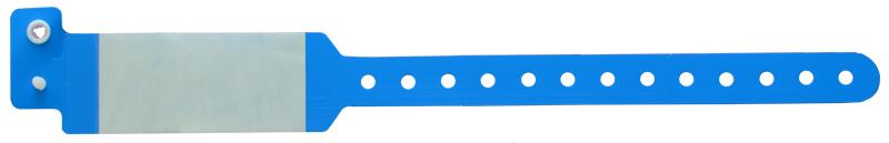 دستبند بیمار محافظ طلقی آبی