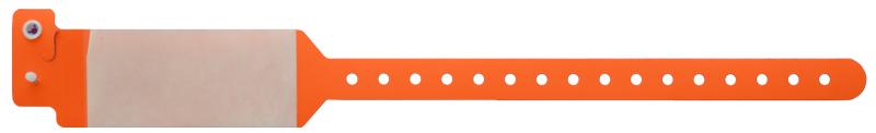 دستبند بیمار محافظ طلقی نارنجی