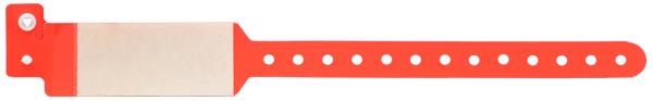 دستبند بیمار نوزاد محافظ طلقی قرمز