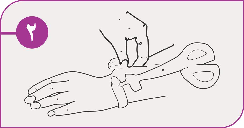 روش استفاده دستبند ورزشی تیوبی 2