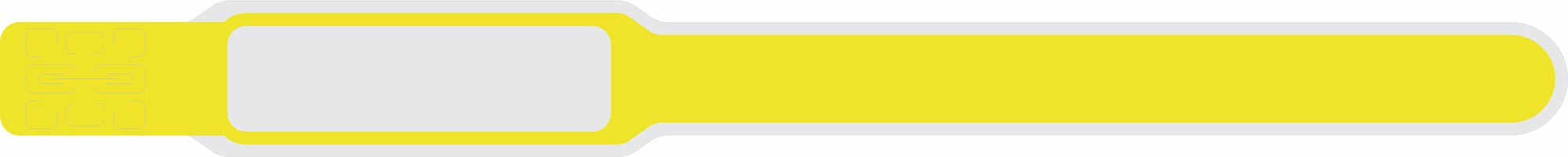 دستبند بیمار ارزان زرد